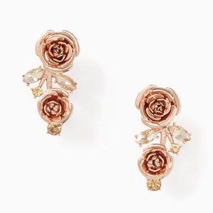 Kate Spade ♠️ NWT Rose Ear Pin Earings